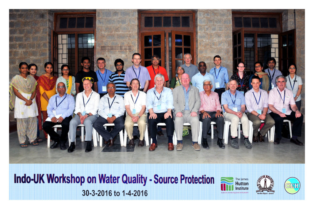 Indo UK workshop on water quality