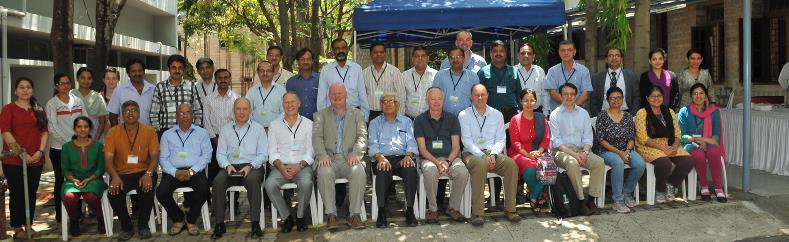 Participants of the Indo-UK workshop on Water Security